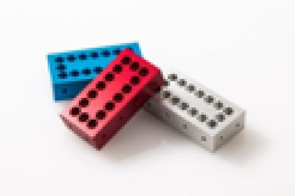 新事業分野 アルミ製組み立てブロック